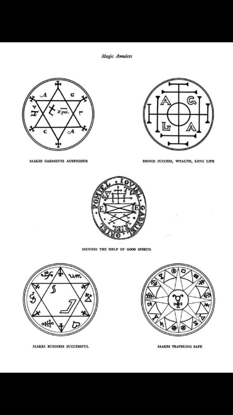 Long list of Sigils and Charms | Occult Archive